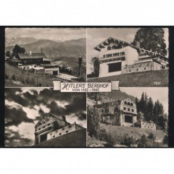 Rara cartolina del Berghof...