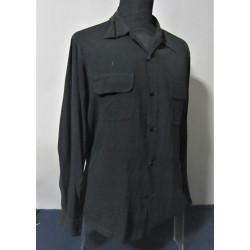 Black under-jacket shirt in...