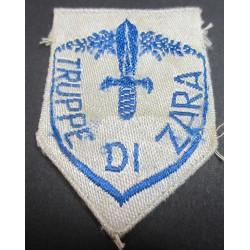 Troops of Zara shield in bevo