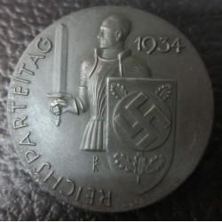 1934 Reichsparteitag badge