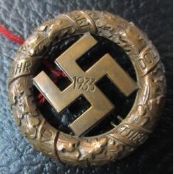 1933 Gau München badge