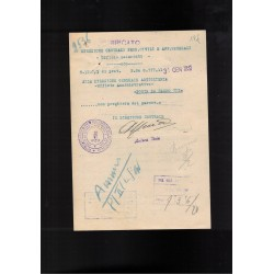 PNF National Fascist Party ID card 1923
