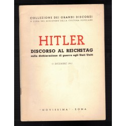 Adolf Hitler's speech in...