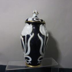 Limoges pate 'ceramic vase...