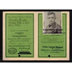 Fregio da manica Battaglioni Camice Nere 1935 versione da Ufficiale