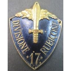 Arm shield 17th Division...