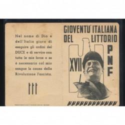 Tessera Partito Comunista Italiano